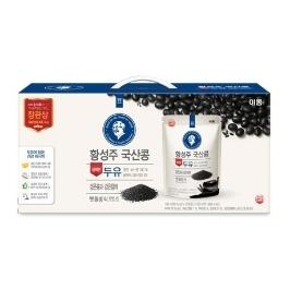 [원더배송] [이롬][108팩]황성주맷돌두유 검은콩과 검은참깨60팩+검은콩과17곡48팩