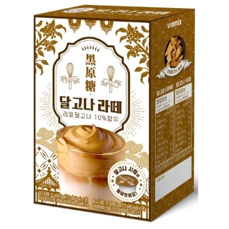 흑원당 달고나 라떼 7+7 (스틱7개+시럽7개)