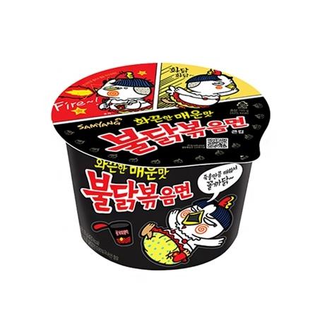 [싸고빠르다] 삼양 불닭볶음면 큰컵 105g 1개(유통기한 20년 7월)
