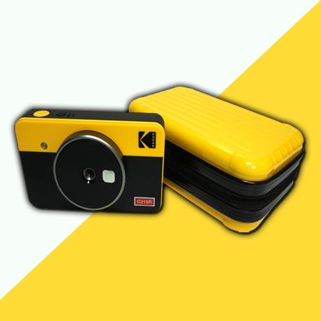 아로큐브 코닥 미니샷 레트로 2 3 파우치 카메라 필름 케이스 콤보 미니 샷 즉석 폴라로이드 c300r c210r