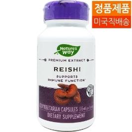 [네이쳐스웨이] [해외배송] 네이쳐스웨이 레이쉬 영지버섯 추출물 100야채캡슐
