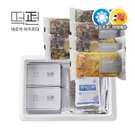 [떡보의하루] [떡편] 영양떡 6종 60개 세트 (6Box) 선물세트 개별포장 식사대용