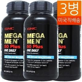 [지앤씨] [해외배송] 3병 지앤씨 메가맨 원데일리 50플러스 60정