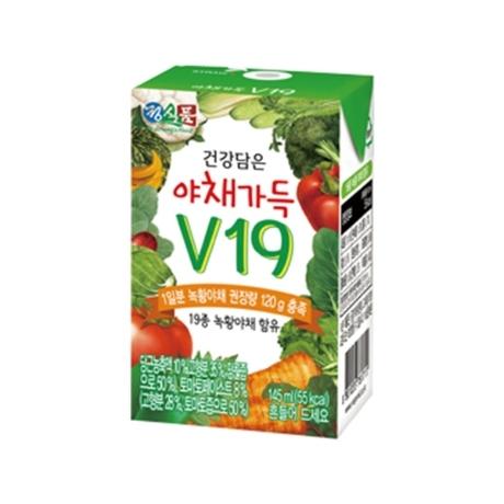 [베지밀] 야채가득 V19 145ml*24팩