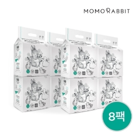 ★더싸다★[모모래빗] 에코씽씽 팬티기저귀 8팩 (팬티형 L/XL/XXL)