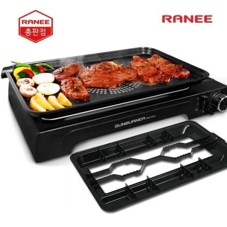 [무료배송] 라니 가스와이드그릴 REWG-9300B 플러스형 썬버너 와이드그릴 휴대용가스버너 정품
