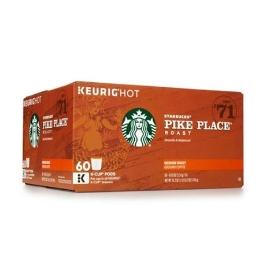 [해외배송] 스타벅스 파이크 플레이스 K-cup용 60개