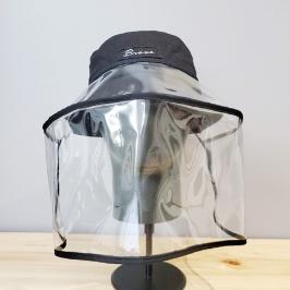 코로나19 얼굴보호 모자 마스크 커버