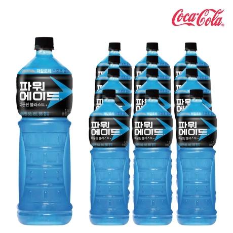 [파워에이드] [코카콜라]파워에이드 마운틴 블라스트 1.5L X 12개 이온음료/스포츠음료/펫음료/음료수/혼합음료/음료