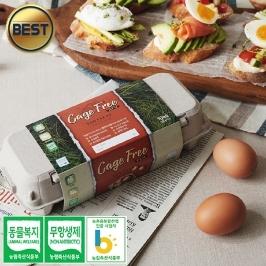 소원농장 무항생제 동물복지 유정란 40구 계란 달걀