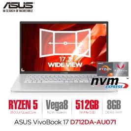 [쿠폰가 62.1만] ASUS 비보북 D712DA-AU071 17인치 라이젠5/8GB/NVMe 512GB