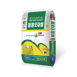 19년산 햅쌀 동송농협 철원오대쌀 20kg