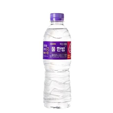 [물한빙] [차오른] 물한빙 미네랄워터 생수 500mL x 40개
