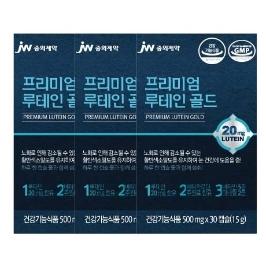 JW중외제약 프리미엄 루테인 골드 30캡슐 x 3
