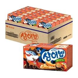 [원더배송] 오리온 상어밥 새우버거맛 40g x 30개