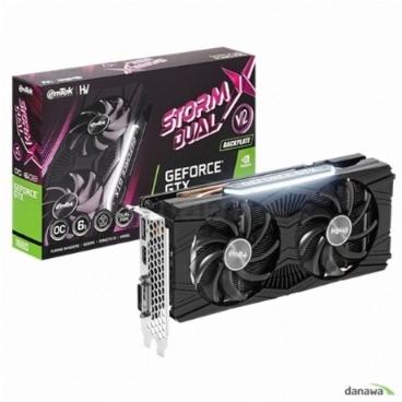 이엠텍 HV 지포스 GTX 1660 STORM X Dual V2 OC D5 6GB 그래픽카드