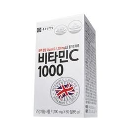 종근당건강 비타민C 1000  1100mg x 60c