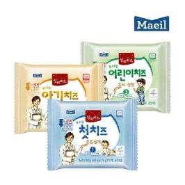 (현대Hmall)매일유업상하치즈유기농첫치즈/아기치즈/어린이치즈본품80매