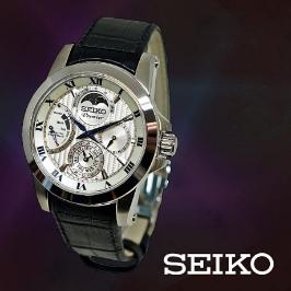 세이코 (SEIKO) 세이코 SRX011J2 남성가죽시계 (18406201227)