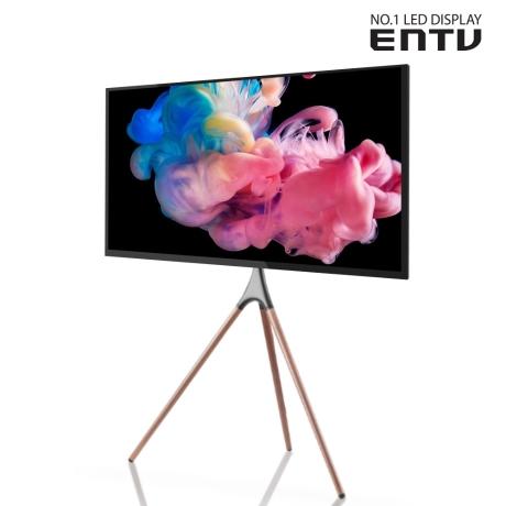 [이엔티비] ENTV DIEN43F-CJ-3ES 43인치 FHD TV 이젤 스탠드 기사설치_W