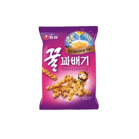[농심] (현대Hmall)[농심] 꿀꽈배기 90g x 20봉/무료배송