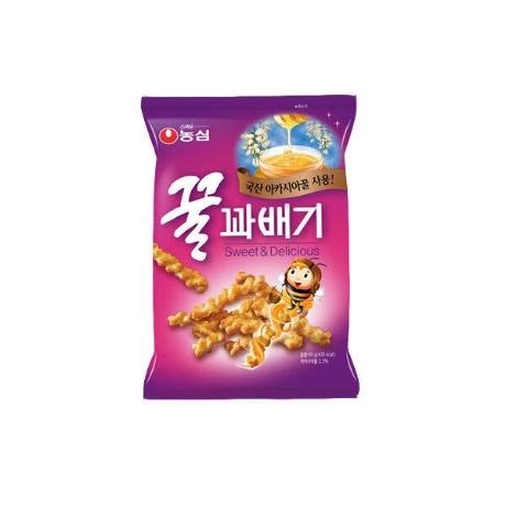(현대Hmall)[농심] 꿀꽈배기 90g x 20봉/무료배송