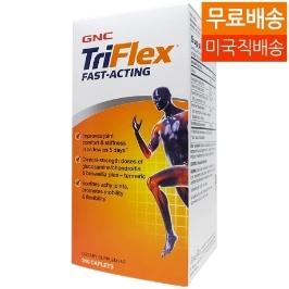 [지앤씨] [해외배송]GNC 트리플렉스 페스트액팅 240정