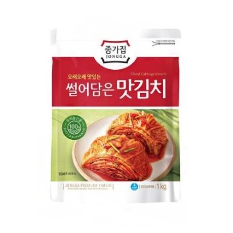 [대상] 대상 종가집 썰어담은 맛김치 1kg(AL)