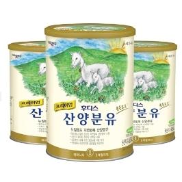 [원더배송]  일동후디스 산양분유 1단계 800g X 3