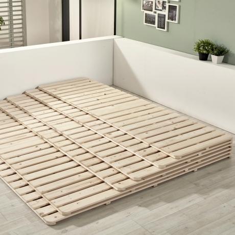 노르웨이숲 침대 프레임 매트리스 깔판 저상형 패밀리 받침대 Q깔판