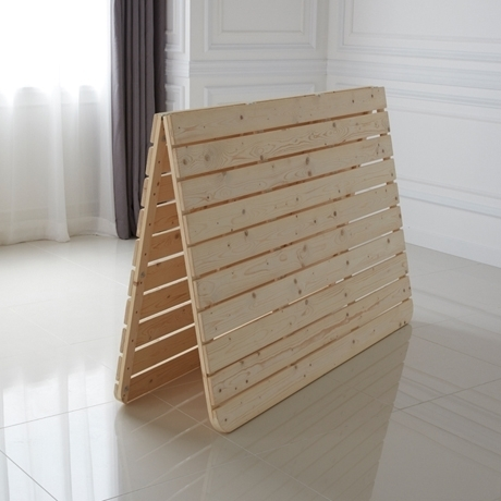 노르웨이숲 침대 프레임 매트리스 깔판 저상형 패밀리 받침대 퀸(Q)