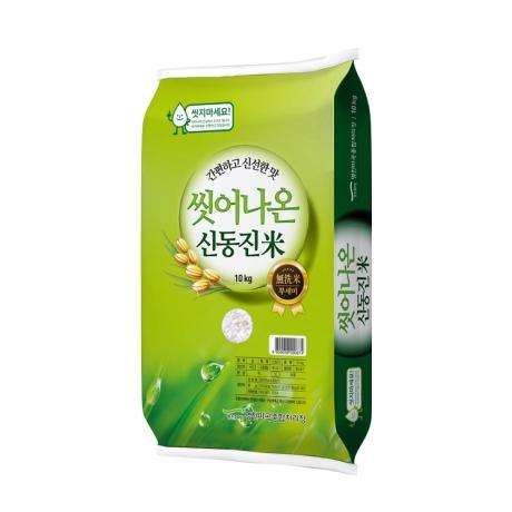 [명천영농조합법인] 신동진 간편하고 신선한 씻어나온쌀 10KG, 1개