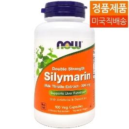 [해외배송] 무배 100캡슐 나우푸드 밀크씨슬 실리마린 Silymarin 300mg__