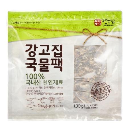 [강고집] 100% 국내산 국물팩 130g