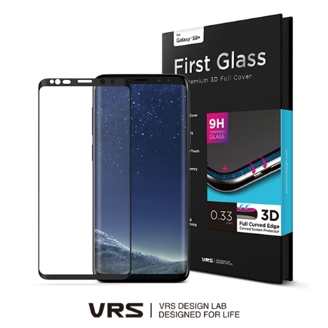 [베루스] 베루스 갤럭시S8플러스 퍼스트글래스 3D 풀커버강화유리