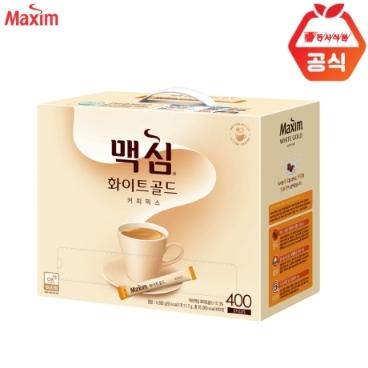 [맥심] 맥심 화이트골드 커피믹스 400T