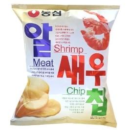 [원더배송] 농심 알새우칩(중) 130g 8봉