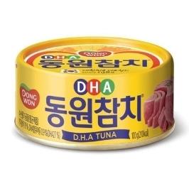 [원더배송] 동원 DHA참치 100g X 60개 디에이치에이 동원참치