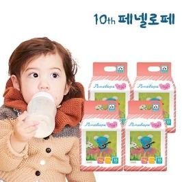 [원더배송] 페넬로페 미라클 팬티기저귀 빅형(여아용) 18매x4팩