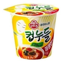 [원더배송] 컵누들 매콤한맛(120Kcal) 37.8G x 30개