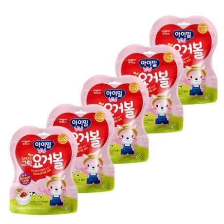 [일동후디스] 그릭요거볼 딸기 x5개