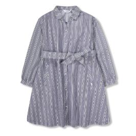 [모다아울렛] 레노마키즈 여아여아 A라인 셔츠 원피스 (R1912O620_13)