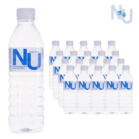 AK몰_물은엔유 미네랄 생수 먹는샘물 500ml x20개