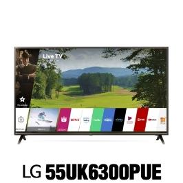 LG전자 55UK6300 (55UK6300PUE) 2018년 신상품 4K HDR 스마트 LED UHD 씽큐 AI 55인치 티비