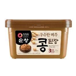 [청정원] [멸치쇼핑] 청정원 메주 콩된장 3kg