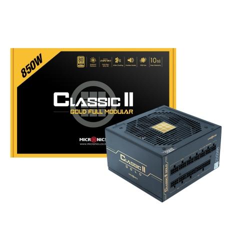 [마이크로닉스] 마이크로닉스 Classic II 850W 80PLUS GOLD 230V EU 풀모듈러
