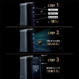 [샤프] [해외배송] 샤프 공기청정기 FU-GK50-B 모기잡는 공기청정기/미세먼지 헤파필터/겨울가격 최저가 PM2.5/관부가세 포함가