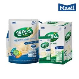 매일유업 셀렉스 매일 마시는 고단백 비타민 125mlX14포 로우슈가/오리지날 매일 마시는 고단백질 멀티비타민 음료