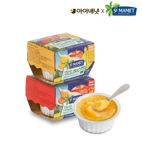 아이배냇 유기농 생과일퓨레 쌩마멧 12팩(24개)