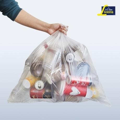 리벤스 분리수거 비닐봉투 40L 100매